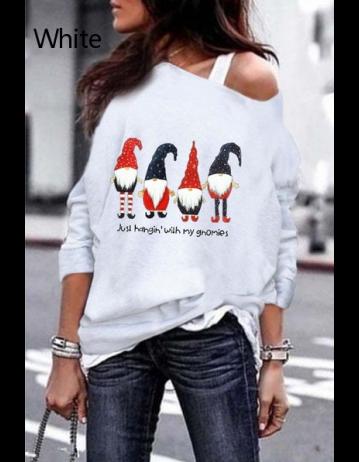 Women Fashion Christmas Sweatshirt