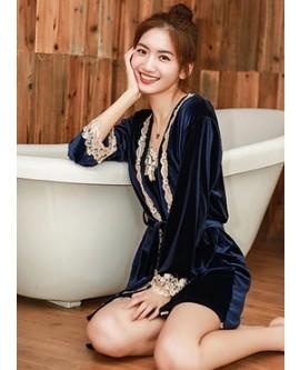 4 Pieces Suit Women's Camisole Pajamas