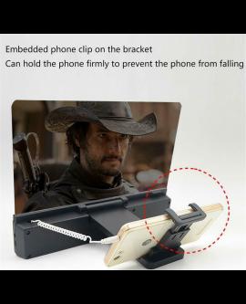 Mobile Phone Screen Magnifier Enlarge Video Amplifier Foldable Dock