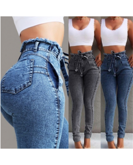 Women's Causal High Waisted Jeans