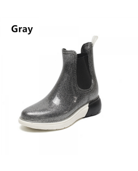 Women Waterproof Boots Rainboots Anti-slip Kitchen Shoes
