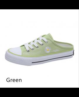 Women's Daisy Heelless Canvas Shoes