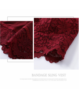 Women Lace Camisole Sexy Vest Padded Underwear