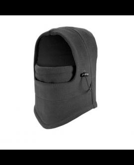 Unisex Winter Warm Fleece Hooded Face Mask Neck Hat