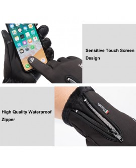 4 Size Cold-proof Unisex Waterproof Touchscreen Gloves