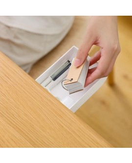 Self-adhesive Desk Hidden Paste Pen Box