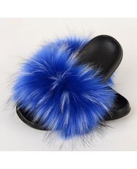 Ladies Faux Fur Sandals