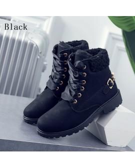 Winter Fleece Short Martin Boots