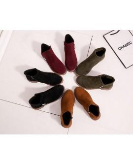 Womens Low Heel Boots