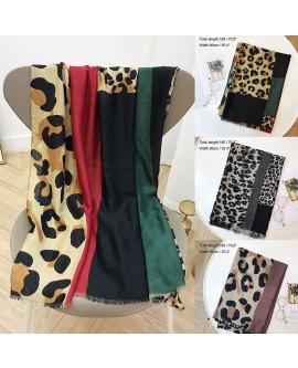 Leopard Print Women Scarf