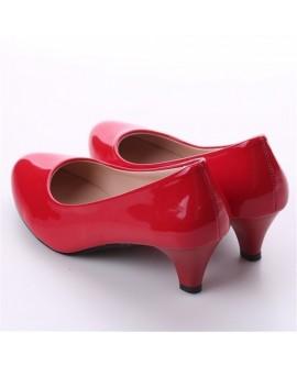 Elegant Ladies Low Heel Shoes
