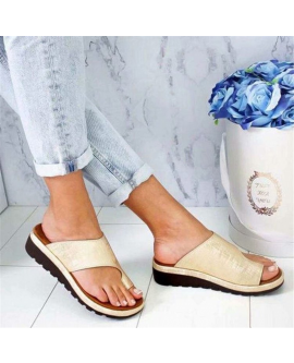 Summer Platform Flat Sandals Women Toes Shoes