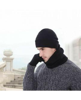 3PCS Winter Hat Scarf Gloves Set