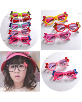 Kids Cute Bowknot Children Sunglasses For Boys Girls
