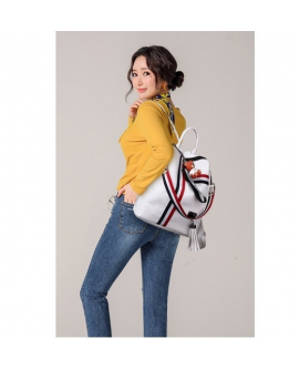 3 Ways Fashion Popular Casual PU Backpack Bear Pendant