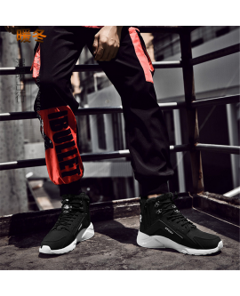 Men Plush Winter Boots Sport Sneaker Fashion Warm Shoes