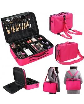 Multi-Layer Professional Makeup Bag