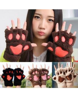 Winter Bear Paw Gloves