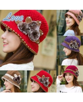 Winter Crochet Knitted Hat