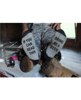 If You Can Read This Bring Me A Beer Funy Socks Unisex Socks