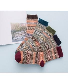 Men's Aztec Style Warm Socks