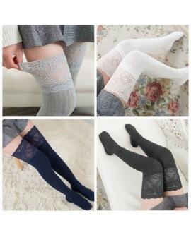 Women Lace Long Stockings