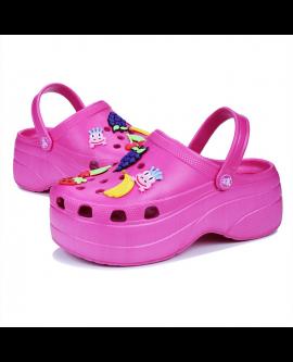 Woman Candy Color Mule Clogs Shoes